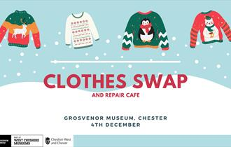 Clothes Swap and Repair Cafe at The Grosvenor Museum