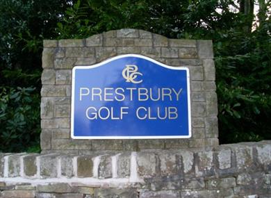prestbury golf course