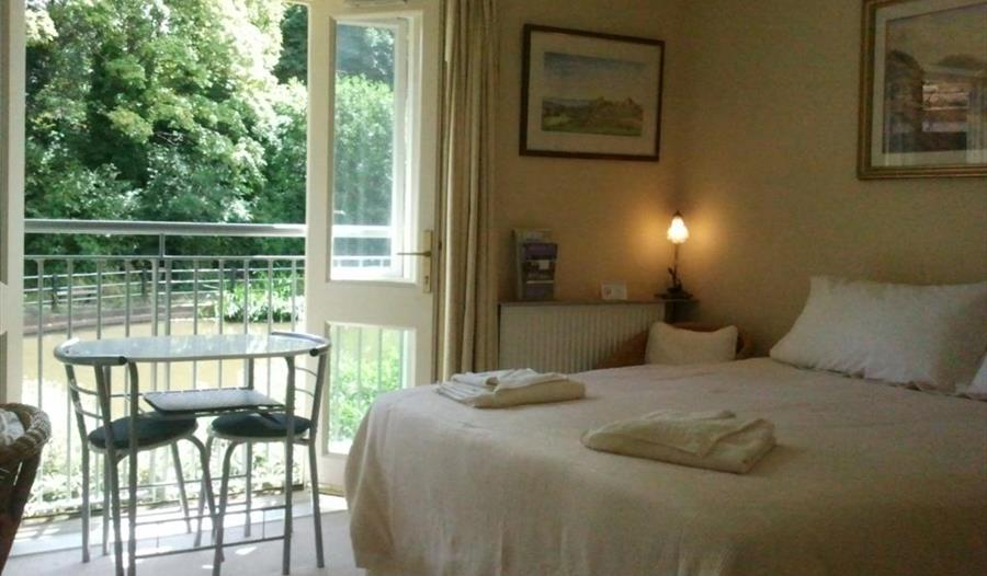 Bedroom at Chester, Canal View
