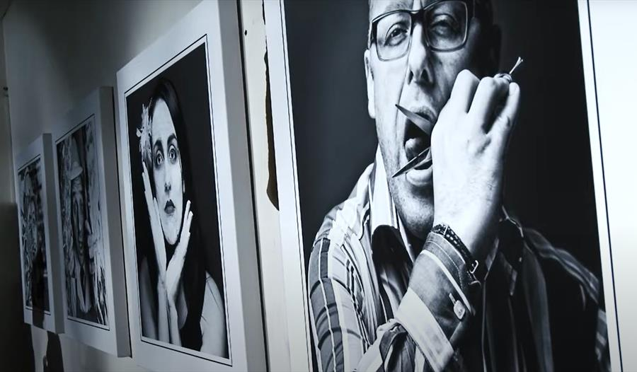 Portraits from the 2013 Knutsfordian Exhibition. Credit; Paul Worpole photography