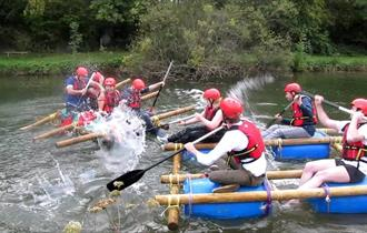 Raft battle