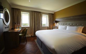 A recently refurbished room at Wychwood Park Hotel, Crewe
