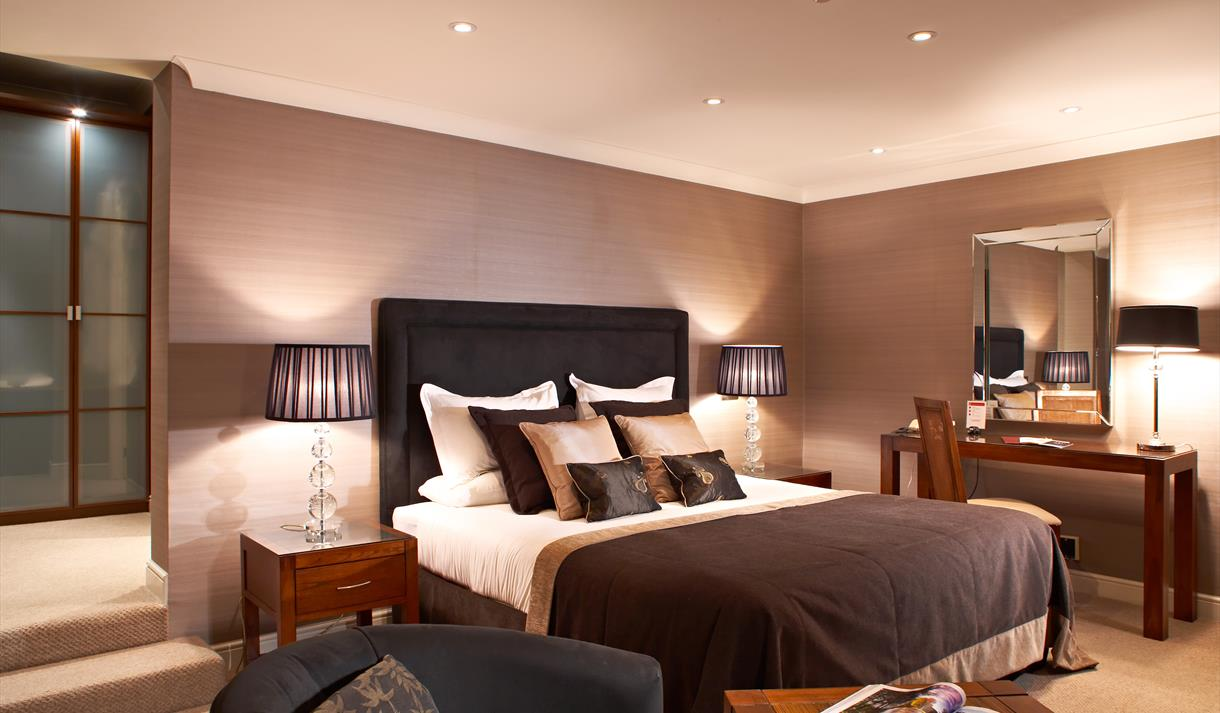 Rowton Hall Hotel & Spa, nestled in secluded grounds.
