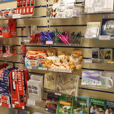 Souvenirs and gifts at Congleton Tourist Information Centre