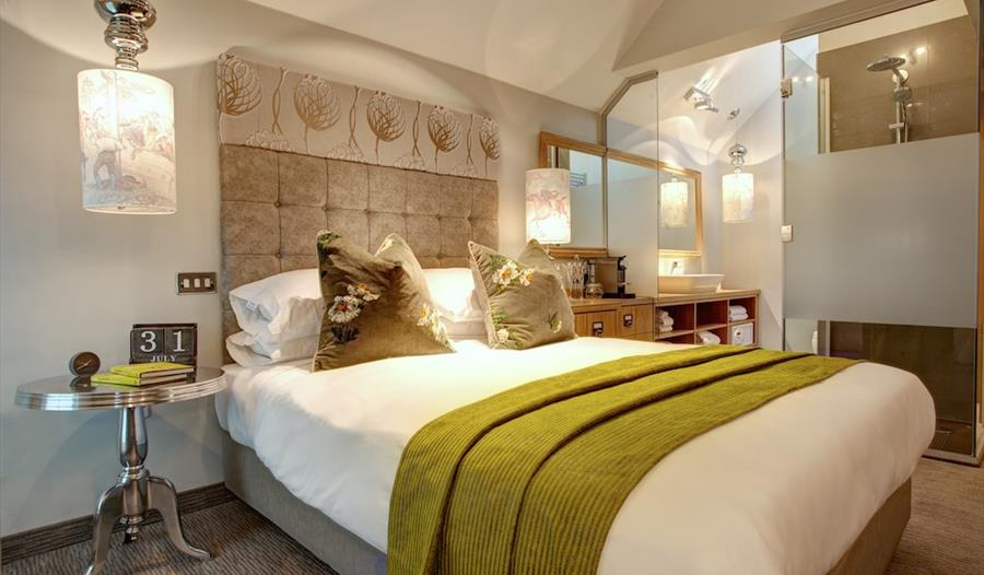 Contemporary and comfortable bedrooms at Oddfellows