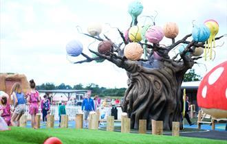 The Ice Cream Tree at The Ice Cream Farm