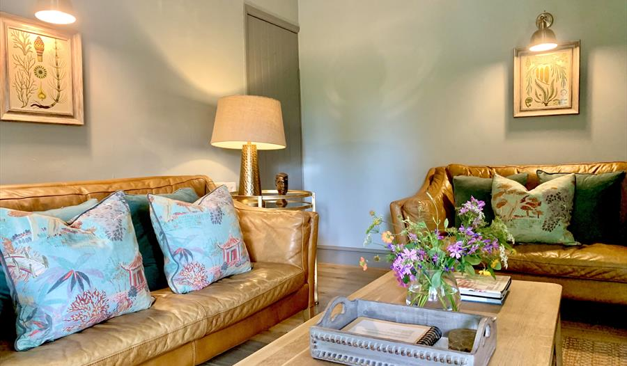 The Cottage Sitting Room, Yew Tree Farm Holiday Cottages