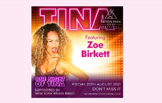 Tatton Park Pop Up Festival - One Night Of Tina supported by New York Brass Band