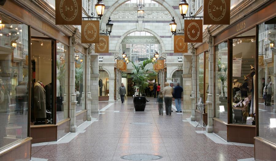 The Grosvenor Shopping Centre, Chester
