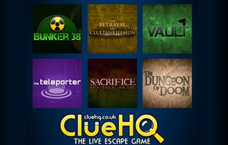 Clue HQ the live escape game in Warrington