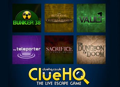 Clue HQ the live escape game in Warrington