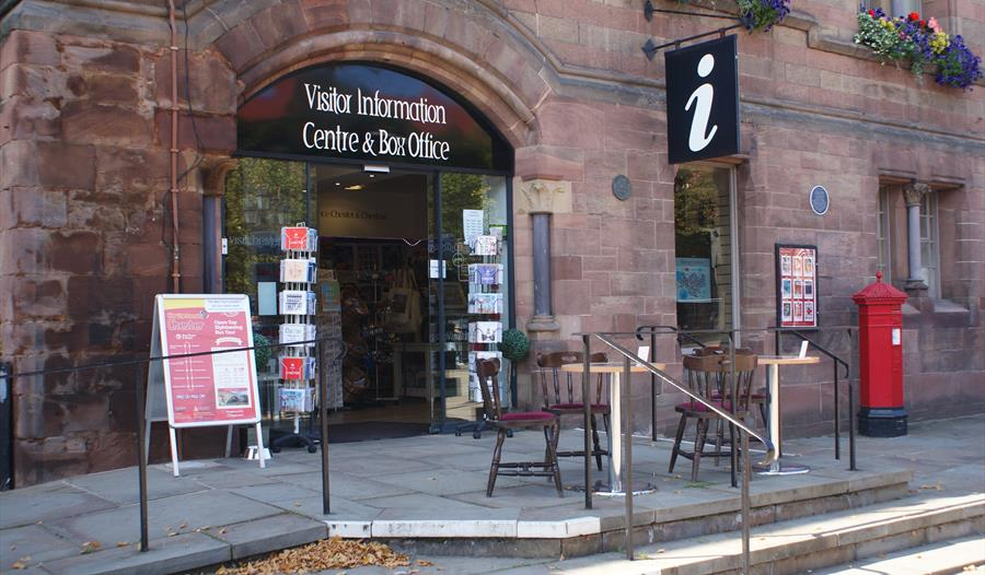 Souvenirs and gifts at Chester Visitor Information Centre