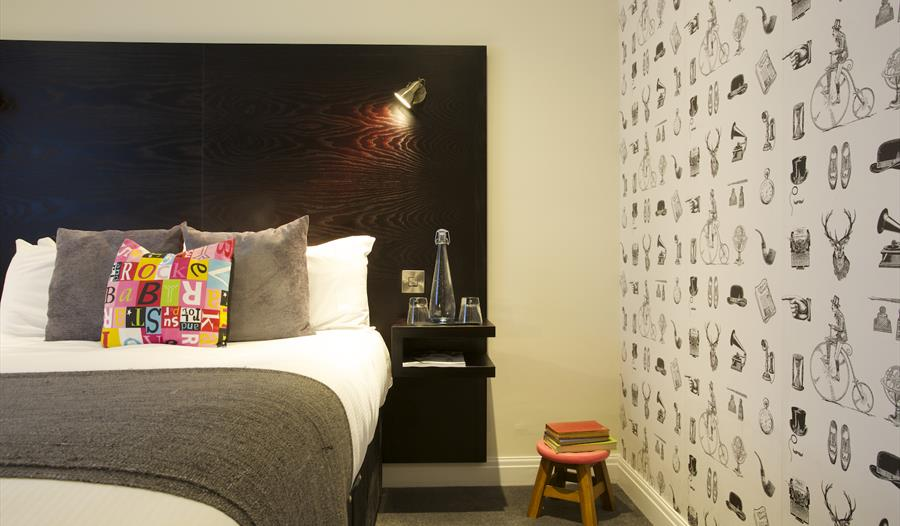 Gorgeous bedrooms at the Vicarage, Holmes Chapel