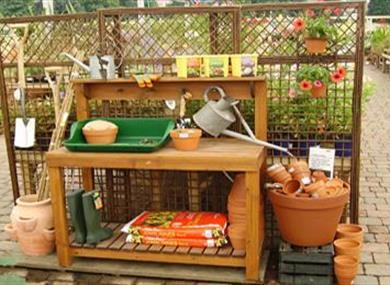 garden centre produce