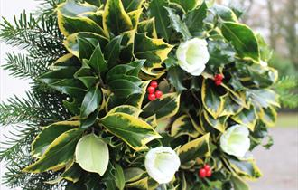 Christmas Wreath Making Course with Arley's Head Gardener