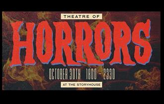 Geddes + Gioia presents – Theatre of Horrors