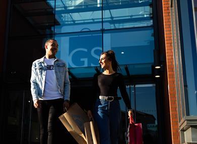 Golden Square Shopping Centre. Credit Warrington BID