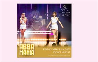 Tatton Park Pop Up Festival - ABBA Mania