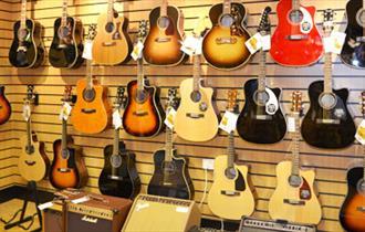 Dawsons Music Shop guitars