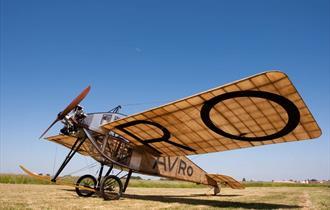The Avro Type F Replica at The Avro Heritage Museum
