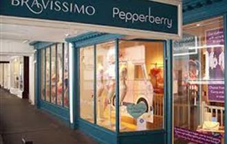 Bravissimo & Pepperberry shop front