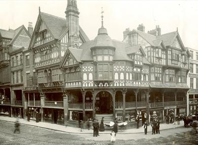 The Cross & Historical Rows, Chester