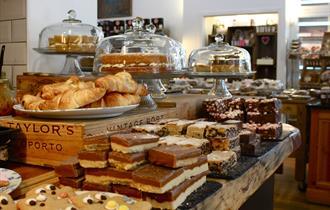 Cafe at Hawarden Estate Farm Shop