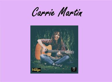 Carrie Martin accoustic guitarist and singer/songwriter