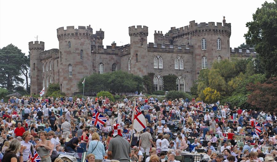 Events held at Cholmondeley Castle throughout the year
