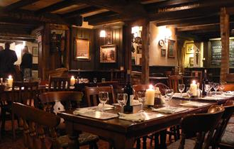 interior of the chelford arms