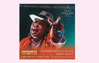 Tatton Park Pop Up Festival - Craig Charles supported by The Real Thing