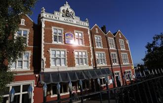 Best Western Crewe Arms Hotel exterior