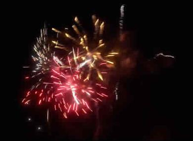 annual firework display
