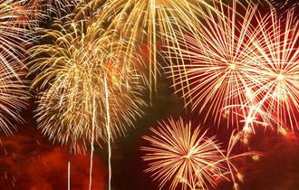 Festive Fireworks at Gulliver's World
