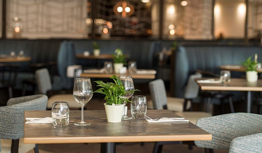 The Garden Room and Terrace restaurant is perfect with British ingredients