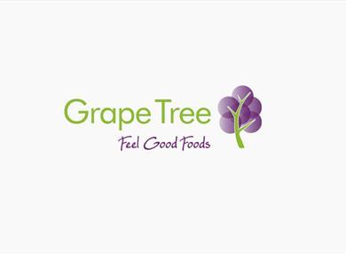 Grape Tree Health Food Logo