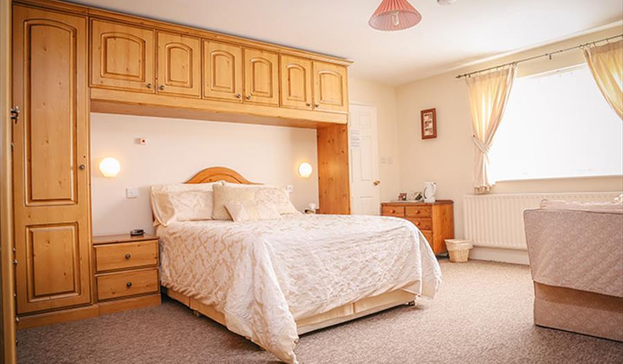 Bedroom at Holly Tree Farm - B&B