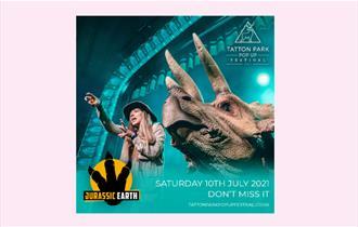 Tatton Park Pop Up Festival - Jurassic Earth