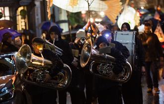 Knutsford Lantern Parade & Crib Service