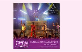Tatton Park Pop Up Festival - Brutus Gold's Love Train
