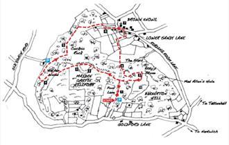 A Circular Walk around Maiden Castle, Bickerton