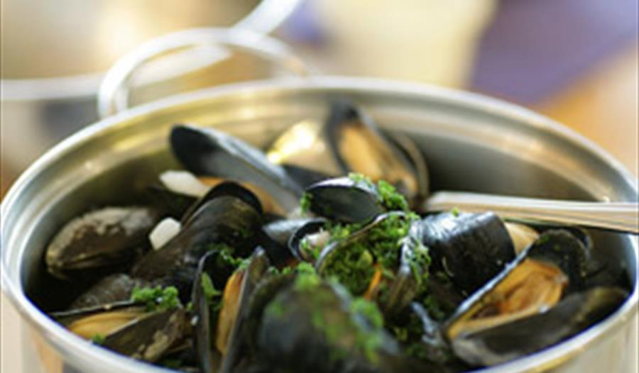 Belgium restaurant Moules a Go-Go serving mussels