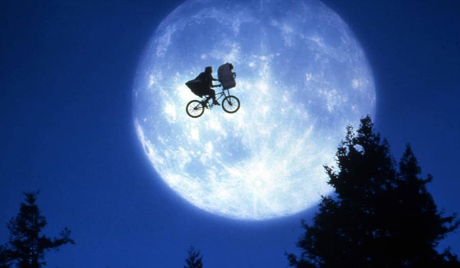 Still from the film E.T.