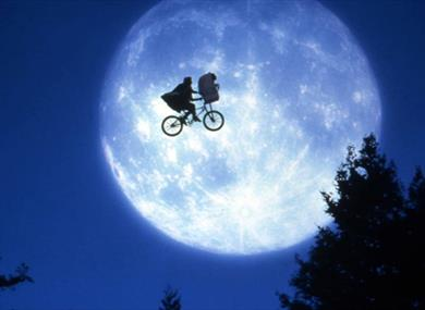 Still from the film E.T.