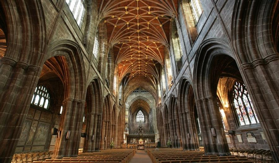 The Nave at Chester Cathedral