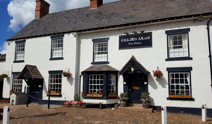 The exterior of the Carden Arms