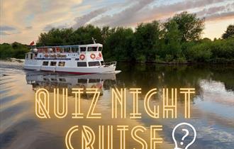 Chilli & Quiz Cruise boat on river dee