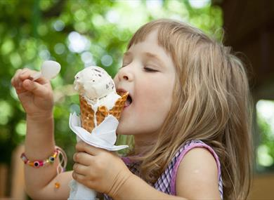 Enjoy a range of flavours at Backford Belles Ice Cream
