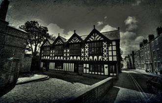 Exterior of Stanley Palace, Chester