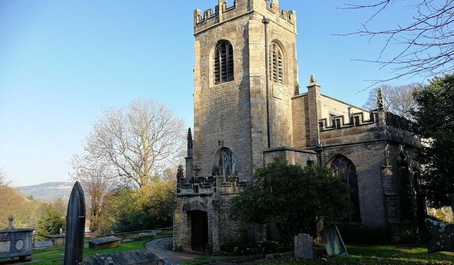 St Mary's Parish Church. Photo credit: Disley Parish Churches